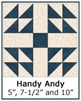 Handy Andy quilt block tutorial