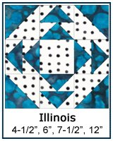 Illinois quilt block tutorial