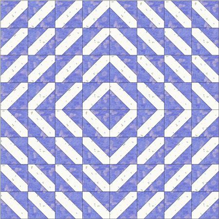 Indian Hatchet quilt, design like a Log Cabin Barnraising