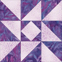 Indiana Puzzle quilt block design