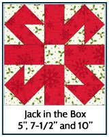 Jack in the Box quilt block tutorial
