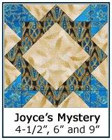 Joyce's Mystery quilt block tutorial