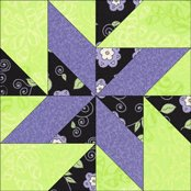 Land of Lincoln quilt block design