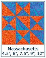 Massachusetts quilt block tutorial