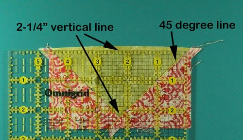 Measure and trim the first pair of sides