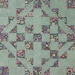 Medieval Walls quilt block design