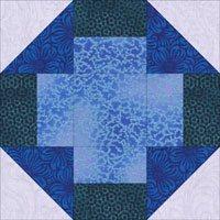Mosaic quilt block design