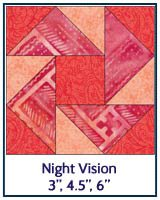 Night Vision quilt block