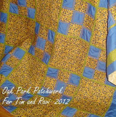 Oak Park Patchwork, a work in progress!