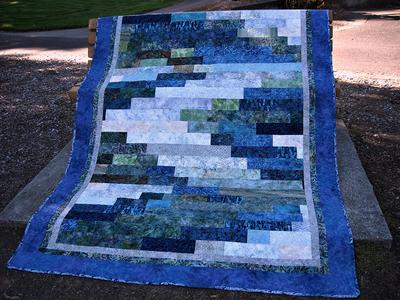 Oregon Batik Waterfall by Bear Creek Quilting Company