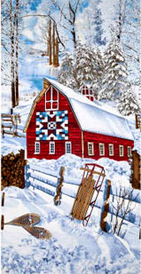 Country Holiday Christmas Barn 23