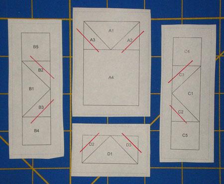 Foundation paper piecing pattern