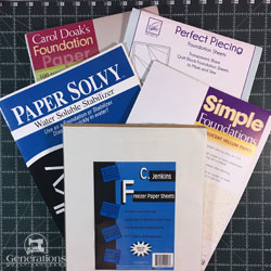 Paper Piecing Paper Review