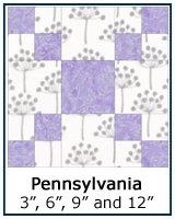 Pennsylvania quilt block tutorial