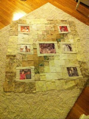 Old Fashioned Way to Make a Pattern<br><br>Click on each thumbnail below for a larger image<br><br>
