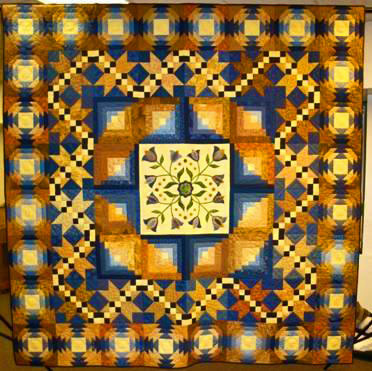 Prairie Bounty: A raffle quilt by the Prairie Star Quilt Guild