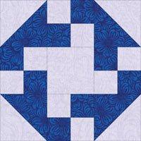 Prairie Queen quilt block design