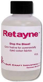 Retayne fabric fixative