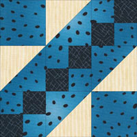 Road to the White House quilt block design