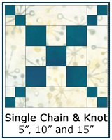Single Chain and Knot quilt block lesson