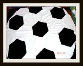 Soccer Ball Quilt Pattern