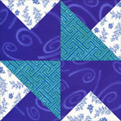 Click here for instructions to make the Southern Belle quilt block