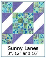 Click here for the Sunny Lanes quilt block tutorial