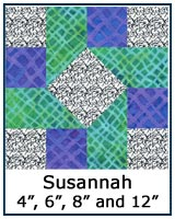 Click here for the Susannah quilt block tutorial