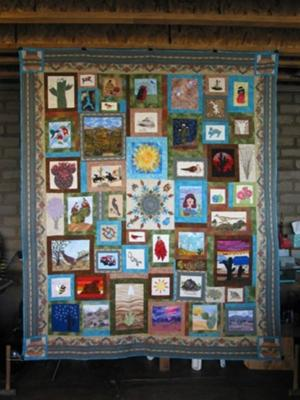 The Why Ajo Raffle Quilt