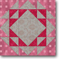 Triangle Quilt quilt block