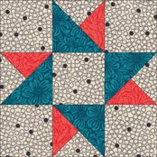 Twin Star quilt block