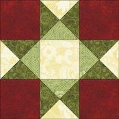 Unknown Star quilt block