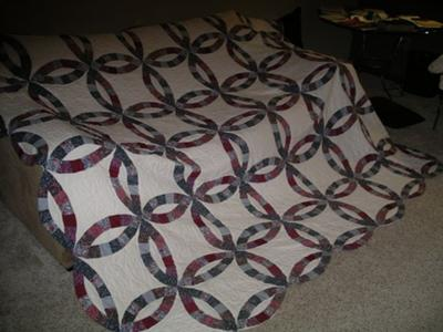 My great grandmother's quilt made in Elmsford, New York