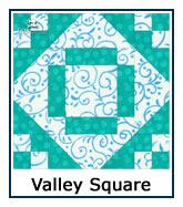 Valley Square quilt design inspiration