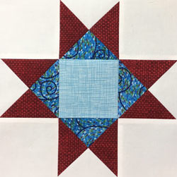 Variable Star quilt block tutorial