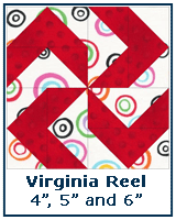 Virginia Reel quilt block