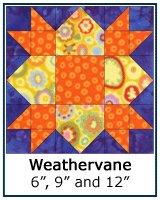 Weathervane Quilt Block Tutorial