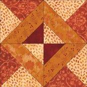 Whirlygig quilt block